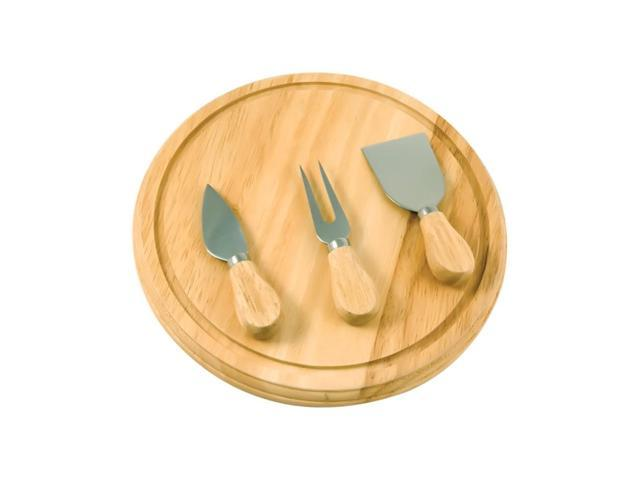 Premium Connection Attractive Kitchenware Rubberwood Board And Serving Set