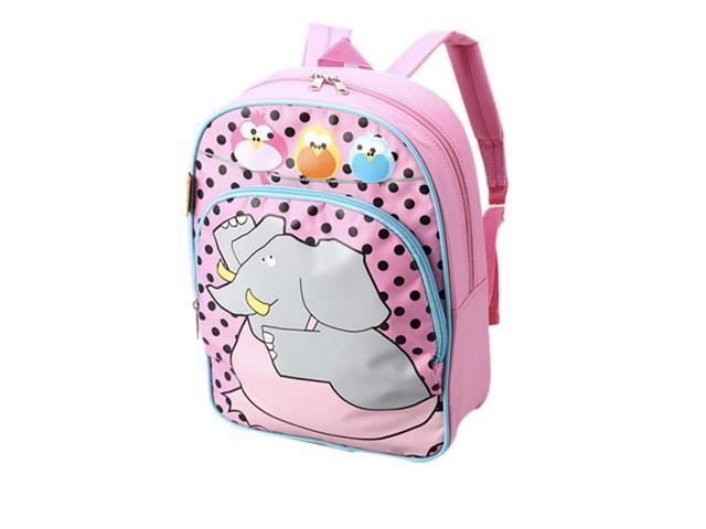 D and N Kids School Daycare Journey Ballerina Elephant Backpack Shoulder Bag 13H x 10W x4D