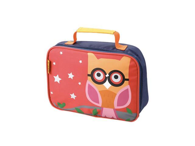 D and N Kids School Daycare Owl Lunch Bag