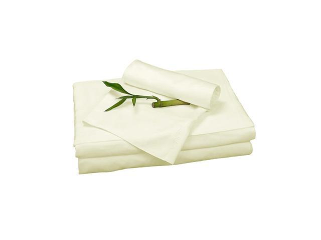 Bedvoyage Home Decorative Bedding Sheet Set, Twin - Ivory