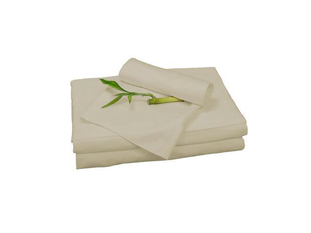 Bedvoyage Home Decorative Bedding Sheet Set, Twin XL - Champagne