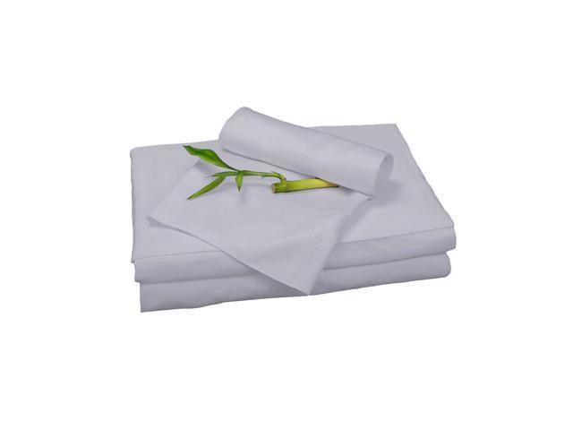 Bedvoyage Home Decorative Bedding Sheet Set, King - Platinum