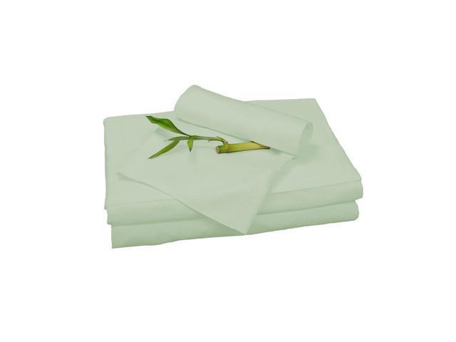 Bedvoyage Home Decorative Bedding Sheet Set, Queen - Sage