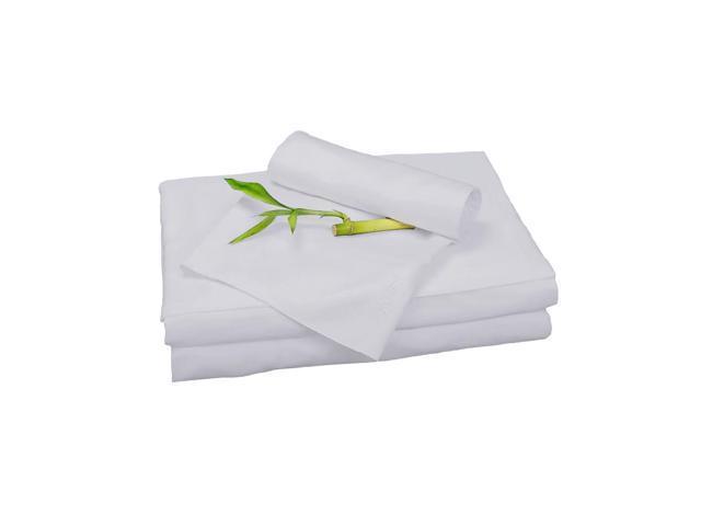 Bedvoyage Home Decorative Bedding Sheet Set, Split King - Platinum