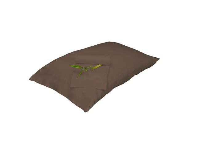 Bedvoyage Decorative Bedding Pillowcase, Full - Mocha