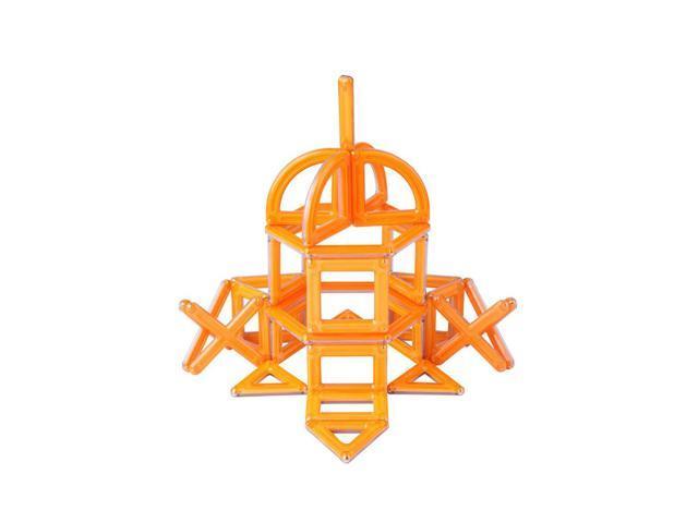 Guidecraft Powerclix Creativity 40 Pc Set Orange, Orange - G9401