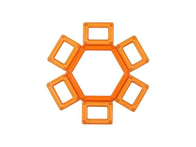 Guidecraft Powerclix Creativity 40 Pc Set Orange, Orange - G9401