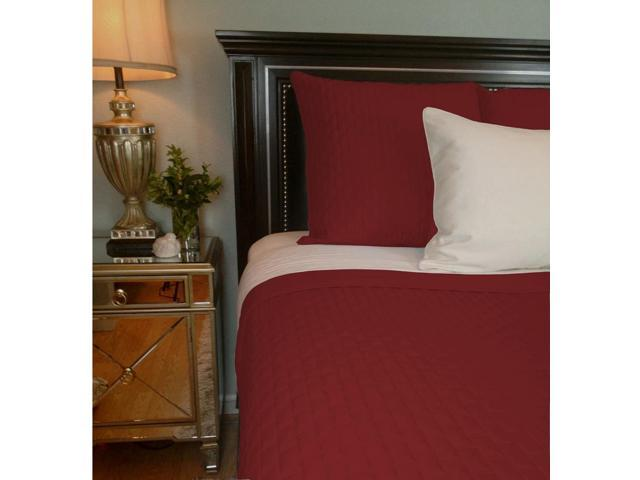 Bedvoyage Home Bedroom Decorative Coverlet - King, Cayenne