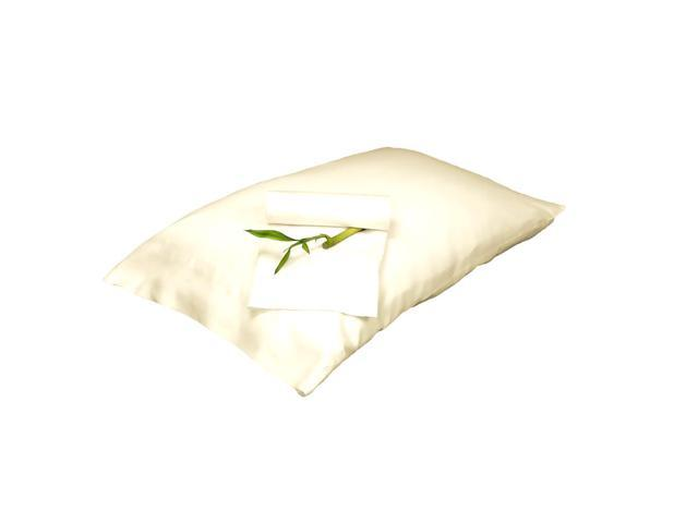 Bedvoyage Decorative Bedding Pillowcase - Queen - Ivory