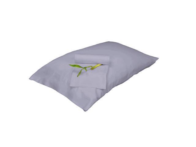 Bedvoyage Decorative Bedding Pillowcase - Queen - Platinum