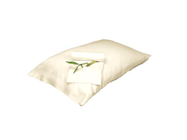 Bedvoyage Decorative Bedding Pillowcase - King - Ivory