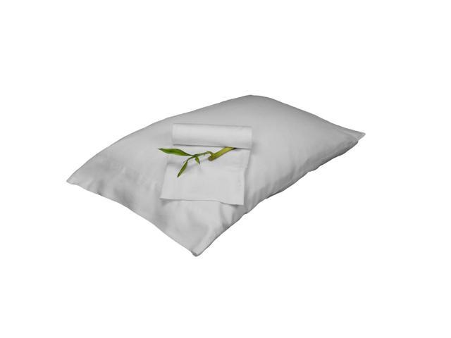 Bedvoyage Decorative Bedding Pillowcase - King - White