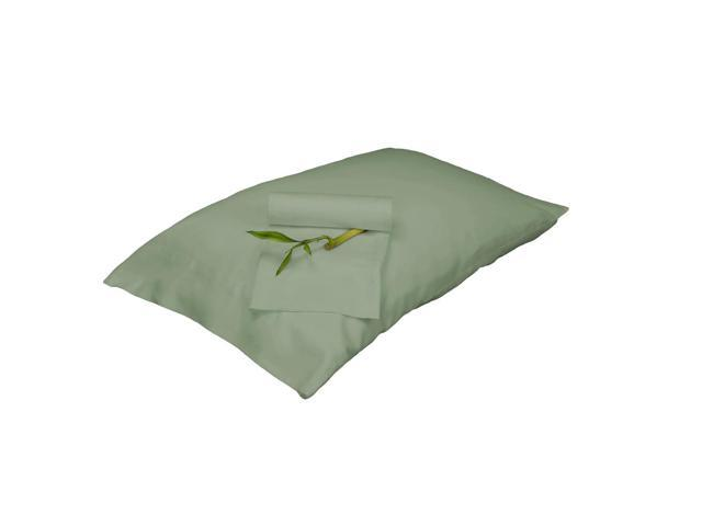 Bedvoyage Decorative Bedding Pillowcase - King - Sage