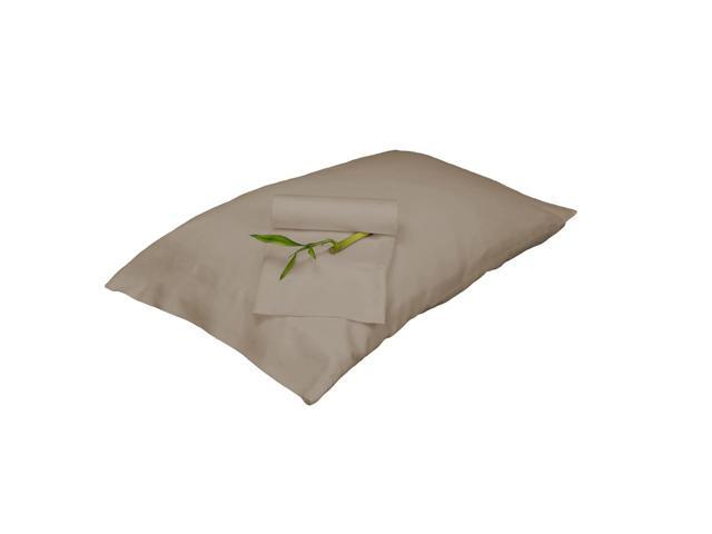 Bedvoyage Decorative Bedding Pillowcase - King - Champagne
