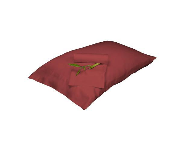 Bedvoyage Decorative Bedding Pillowcase - King - Cayenne