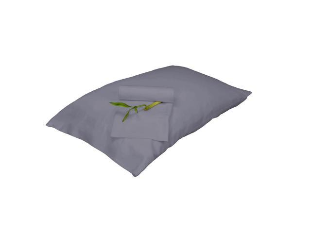 Bedvoyage Decorative Bedding Pillowcase - King - Platinum