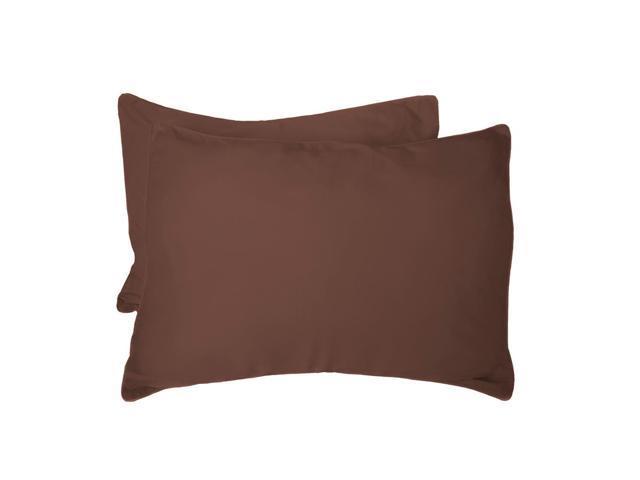 Bedvoyage Decorative Bedding Standard Shams - Mocha
