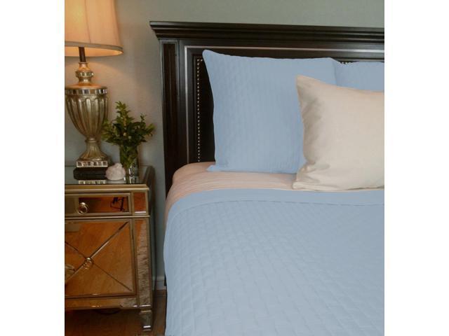 Bedvoyage Home Bedroom Decorative Coverlet - Queen, Sky