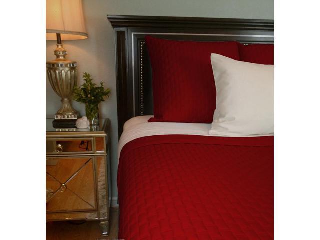 Bedvoyage Home Bedroom Decorative Coverlet - Queen, Cayenne