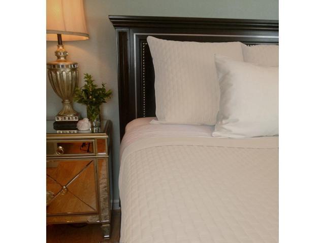 Bedvoyage Home Bedroom Decorative Coverlet - King, Ivory