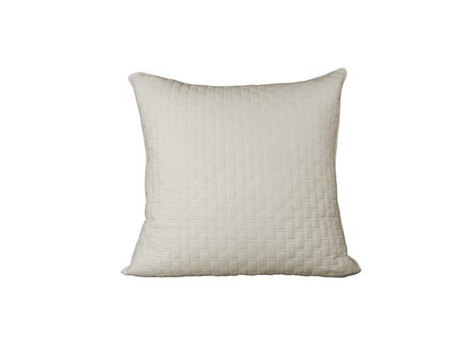 Bedvoyage Decorative Bedding Euro Sham - Ivory