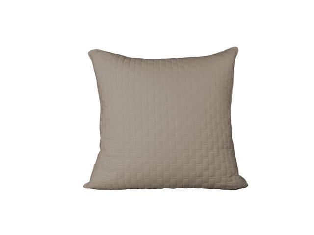 Bedvoyage Decorative Bedding Euro Sham - Champagne