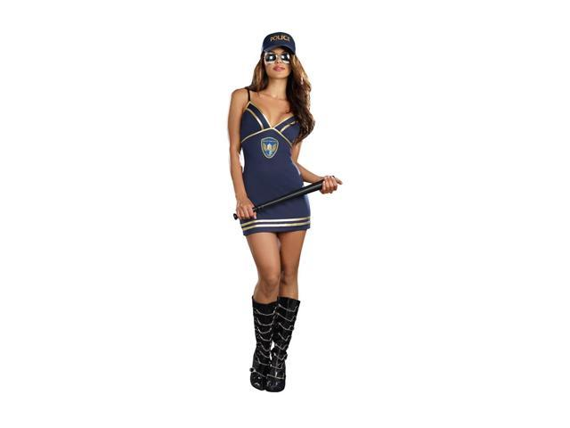 Police Dress Adult Small