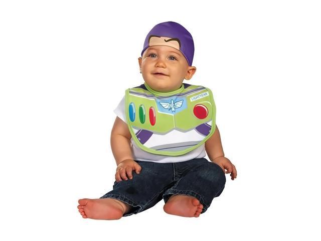 Disney Halloween Costume Buzz Bib with Hat