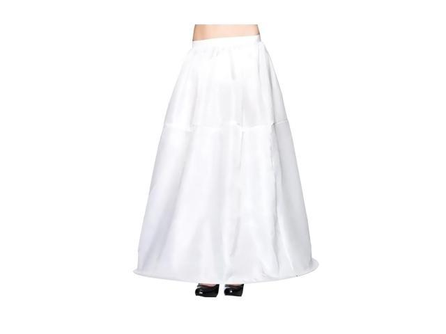 Morris Costumes Womens Long Hoop Skirt Adult One Size