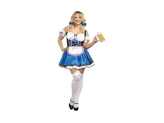 Morris Costumes  Halloween Party  Happy New Beer Adult XXX Large Blue Velvet