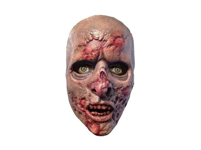 AMC Film Holdings LLC Halloween Party Fashion Holiday Apparel Outfit Walking Dead Prison Walker Latex Face Mask