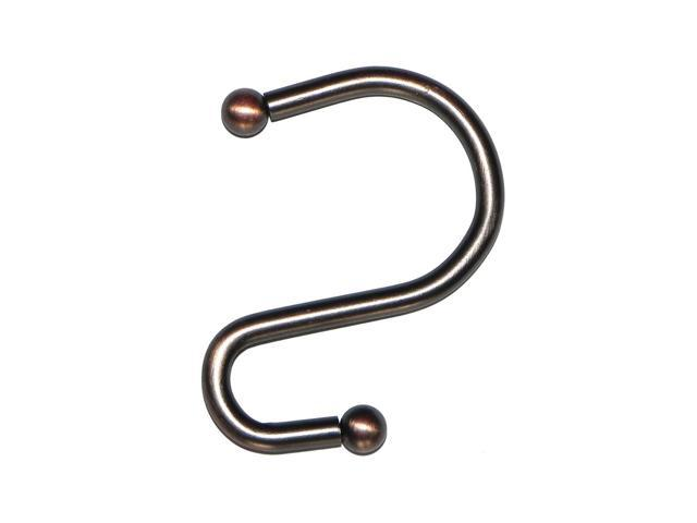 American Crafts S Shower Curtain Hooks in Oil Rubbed Bronze