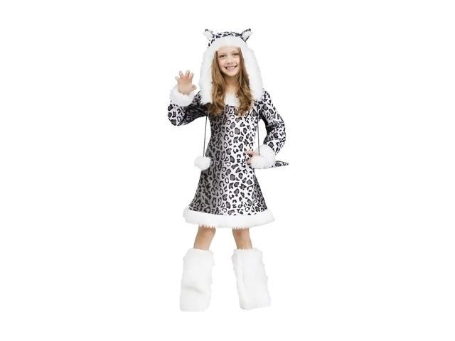 Morris Costumes Halloween Novelty Accessories Snow Leopard Child 12-14