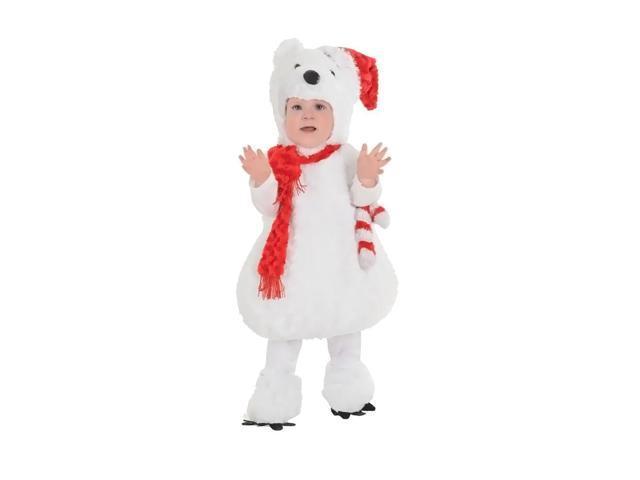 Morris Costumes Halloween Novelty Accessories Christmas polar bear toddler 2-4
