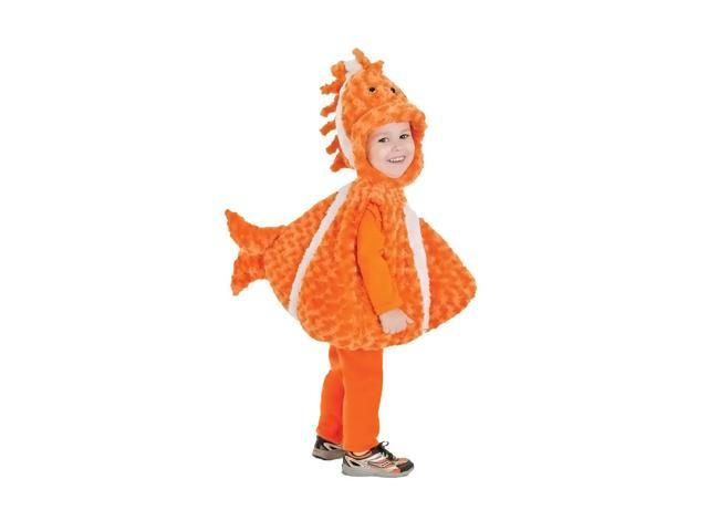 Morris Costumes Halloween Novelty Accessories Big mouth Dlown Fish toddler 2-4t