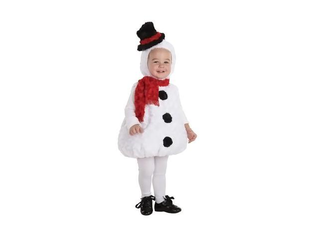 Morris Costumes Halloween Novelty Accessories Snowman Toddler 18-24