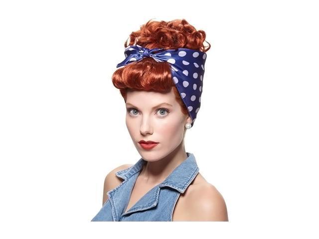 Morris Costumes Halloween Novelty Accessories Wig rivetor red