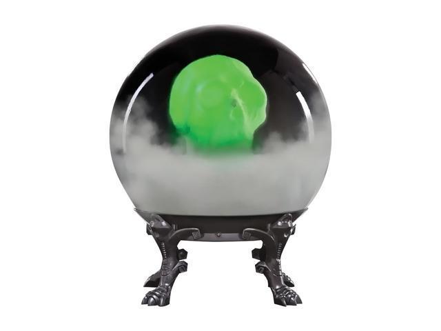 Morris Costumes Halloween Novelty Accessories Crystal ball w/phantom skull-b