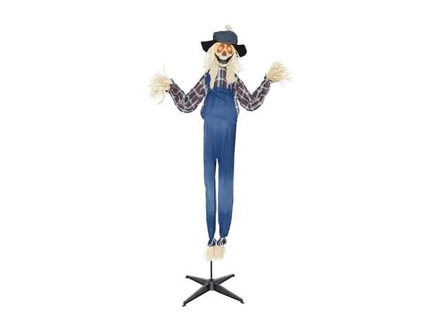 Morris Costumes Halloween Novelty Accessories Scarecrow animated standing