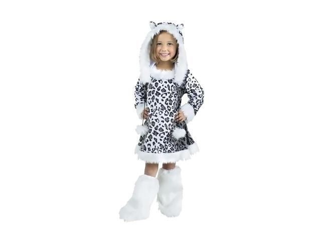 Morris Costumes Halloween Novelty Accessories Snow Leopard Toddler 3-4t