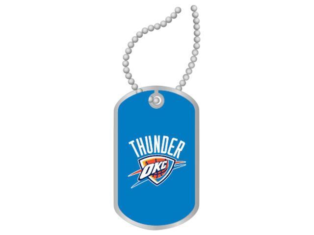 OKC Oklahoma City Thunder Dog Tag Necklace