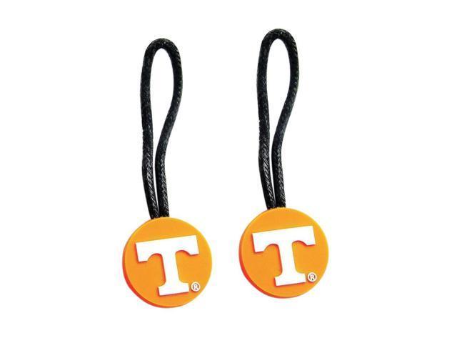 NCAA Zipper Pull Pet id Luggage Bag Tag Tennessee Volunteers Vols 2 Pack