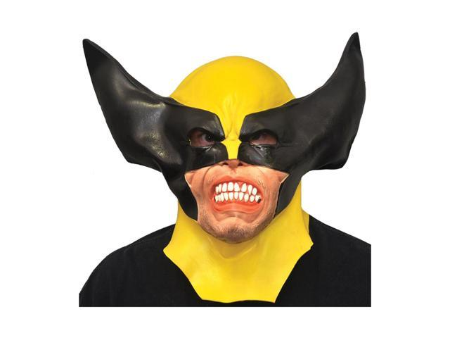 Morris Costumes Halloween Party Wolverine Adult Latex Mask