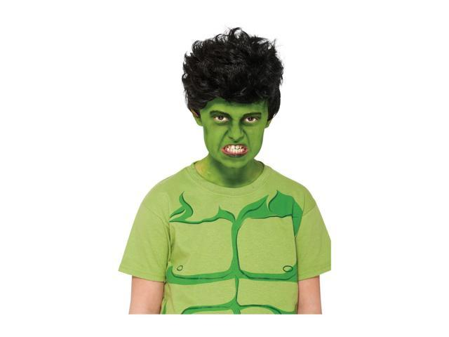 Marvel Halloween Party Hulk Wig Child