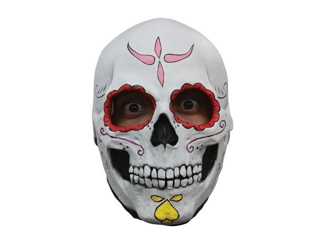 Morris Costumes Halloween Party Catrina Skull Latex Mask