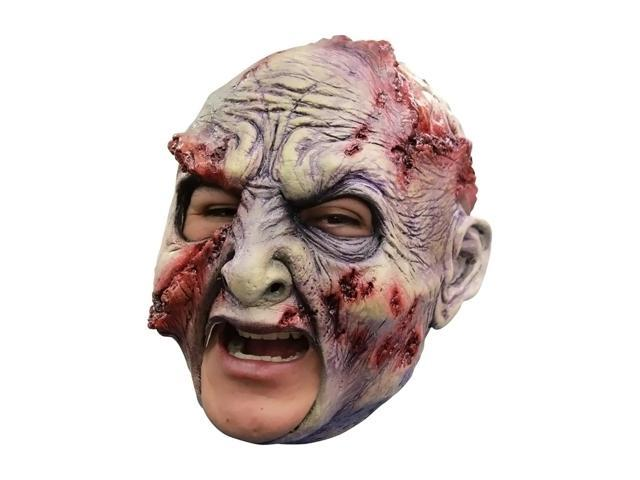 Morris Costumes Halloween Party Cosplay Rotted Chinless Latex Mask
