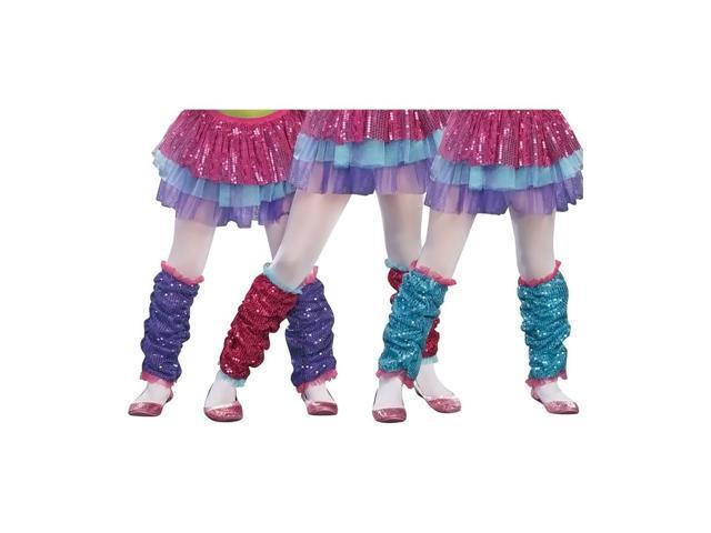 Morris Costumes Halloween Party Dance Craze Leg Warmers Purple