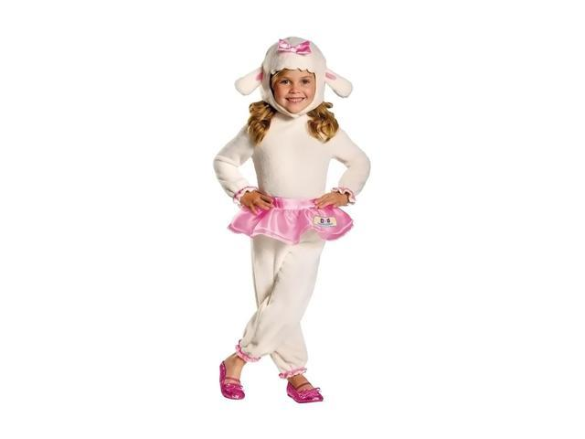 Disney Halloween Party Kids Costume Lambie Doc Mcstuffins 4-6