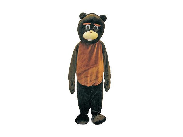 Dress Up America Halloween Party Beaver Mascot Costume Set - Large 12-14