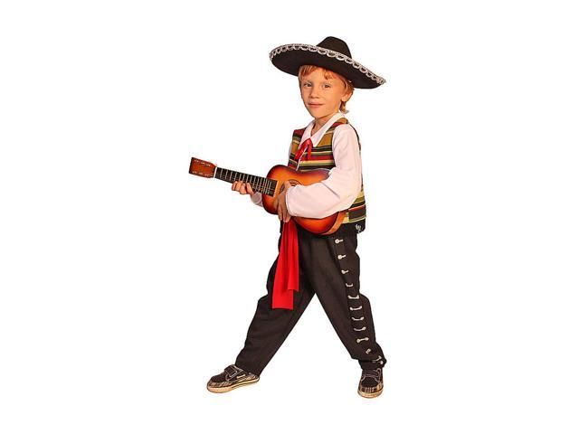 Dress Up America Halloween Party Mexican Mariachi - Size Toddler T2